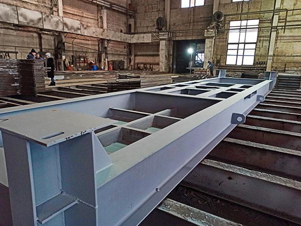 Производственные мощности Уральского Завода Резервуарного оборудования