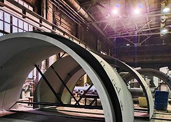 Производство строительных металлоконструкций и нестандартного оборудования
