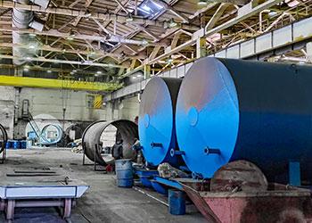 Производство резервуаров для нефтепродуктов и химической промышленности
