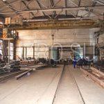 Произведенные металлоконструкции на заводе УЗРО
