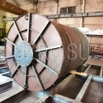 Бак запаса питательной воды объемом 10м3 в соответствии с ТТ 77-19Э/ПИР-1-ТТ-ТМ19, материал изготовления сталь 09Г2С, толщина металла 5мм