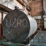Резервуар хранения герметизирующей жидкости объемом 10м3 в соответствии с ТТ 77- 193 /ПИР-1-ТТ-ТМ17, материал изготовления сталь 09Г2С, толщина металла 5мм