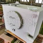 Расходный бак растопочного топлива объемом lмЗ в соответствии с ТТ 77-19Э/ПИР-1-ТТ ТМ39, материал изготовления сталь 09Г2С, толщина металла 5мм
